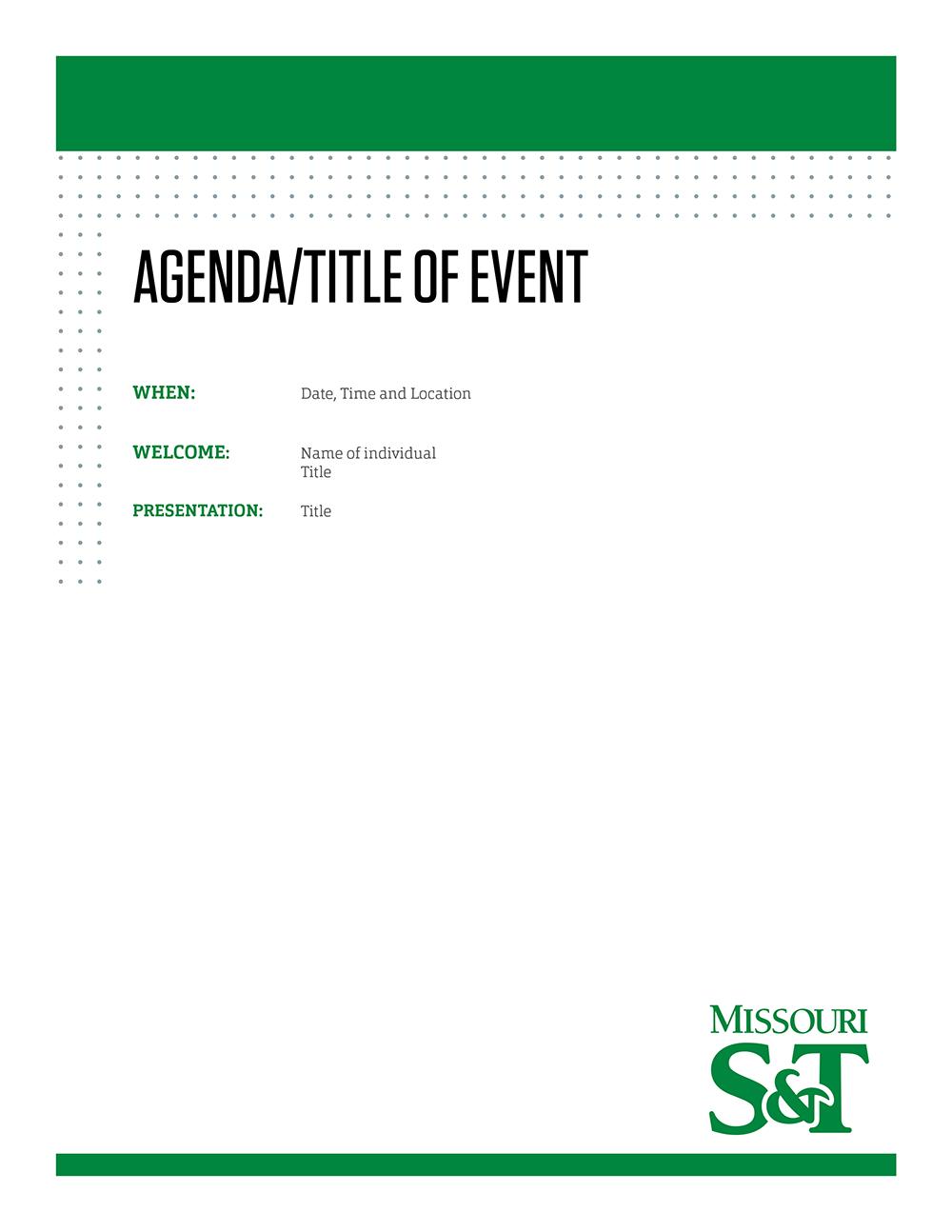Agenda Design Templates 8 Calendar Agenda Templates Free – Agenda Design Templates